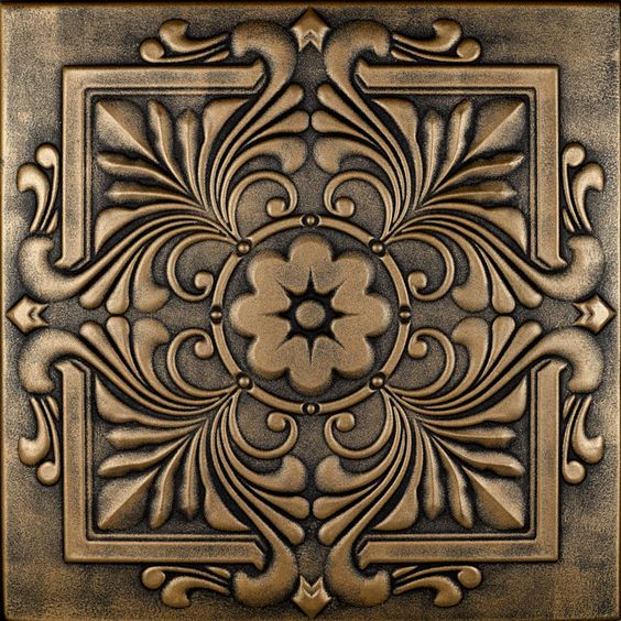 Hand Painted Wall Tiles Simple Ways To Decorate Old: Styrofoam Ceiling Tiles, Ceiling Tiles And Victorian On