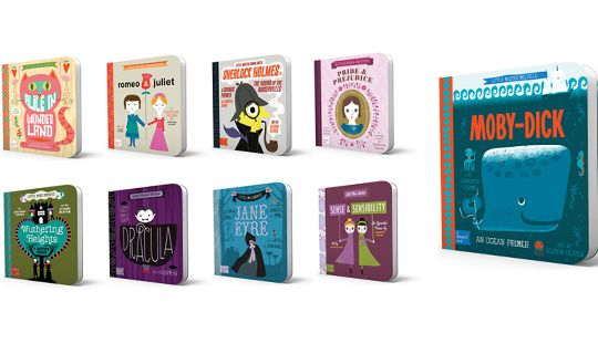Only like the most beautiful books for kiddies! NY Times Feature: Introduce Your Little Ones to the World of Classic Literature