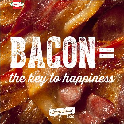 Bacon me happy.
