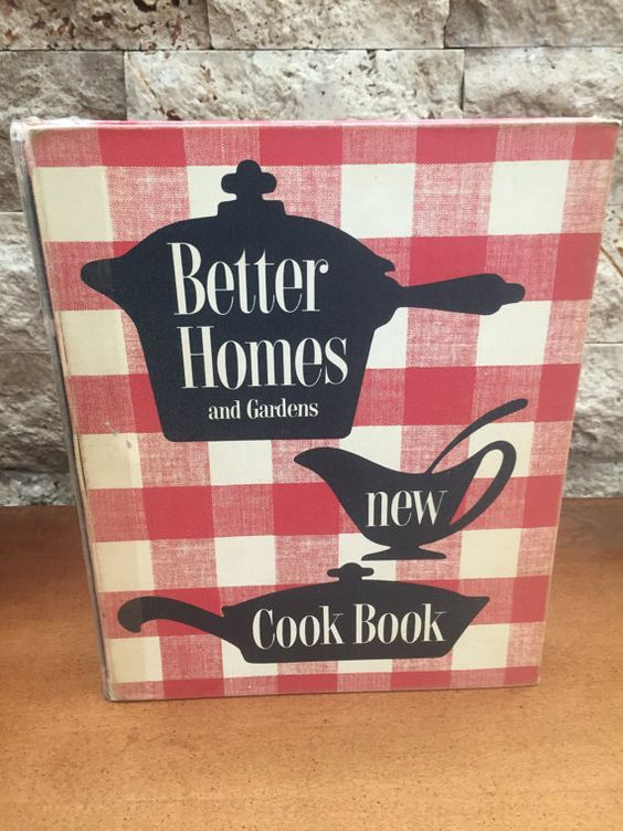 Better Homes and Garden New Cookbook 1953 1st Edition 6th Printing