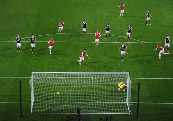 Arsenal is still on his way, Giroud scored twice for the Gunners on Saturday! This was the 2nd Goal!