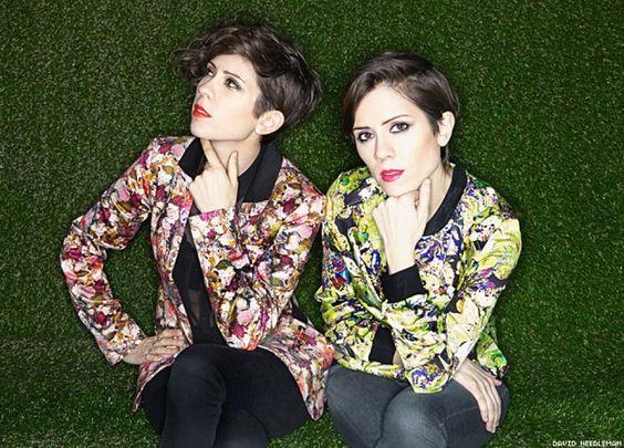 Tegan and Sara es una banda canadiense de rock/pop indie, formado por las cantautoras y hermanas (gemelas idénticas), Tegan Rain Quin y Sara Kiersten Quin. Nacieron el 19 de septiembre de 1980