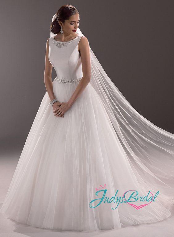 plain ball gown wedding dresses - Google Search