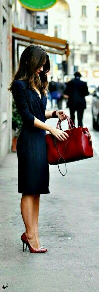 #work outfit. - #red