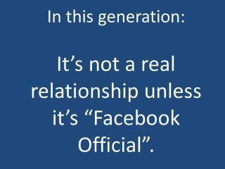 sad but oh how true...