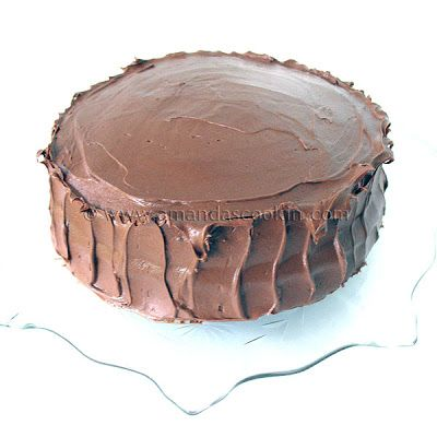 """I've made several chocolate cakes from scratch, many have been good, but none have really been """"the one"""", that keeper that everyone in the family liked. I recently made Nigella's Old Fashioned Chocolate Cake. That was very good, and the frosting was pure amazingness, but after making this Chocolate Fudge Cake, I think we mayRead More »"""