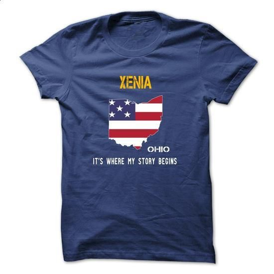 XENIA - Its where my story begins! - make your own shirt #hoodie schnittmuster #cheap sweater