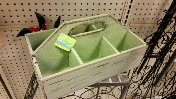 Distressed wooden box