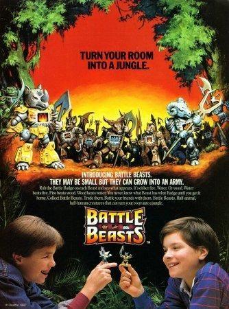 """Hasbro """"Battle Beasts"""" figures"""