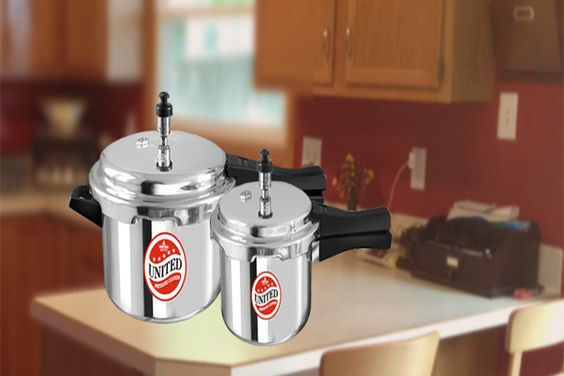 #3_Liter_Elegance_Plus_outer_lid_Pressure_cooker.Most common cooking apparatus of today's world wide kitchen. We manufacture United Elegance Plus outer lid  Pressure cooker with Induction Base apart from its use, the most important factor of the product- USER SAFETY.  #Best_Pressure_Cooker_online #Buy_pressure_cooker_online #buy_3_litre_pressure_cooker_online