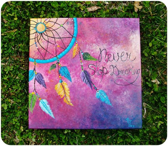 Acrylics, Dream catcher painting and the Originals on ...