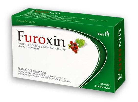 FUROXIN x 30 tablets, urinary tract infection treatment