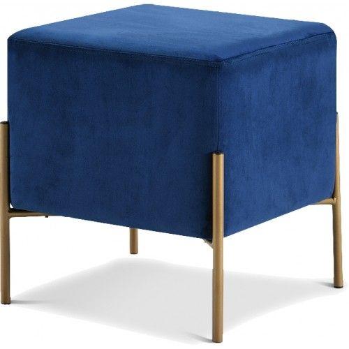 velvet modern ottoman footstool