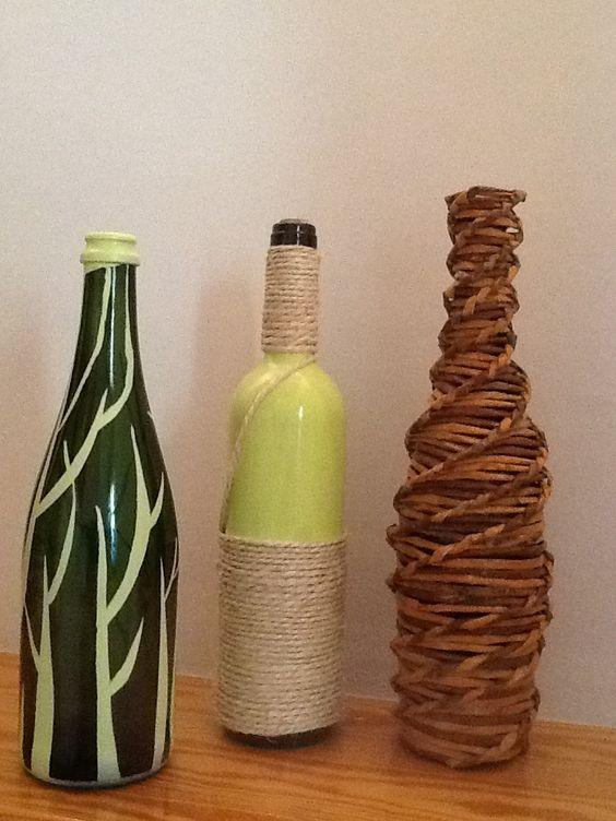 Decoraci n de botellas garrafas decoradas pinterest - Decoracion de botellas ...