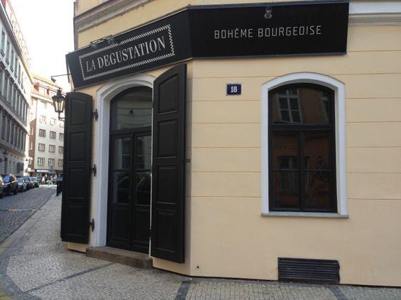 La Degustation Bohême Bourgeoise στην πόλη Praha, Hlavní město Praha