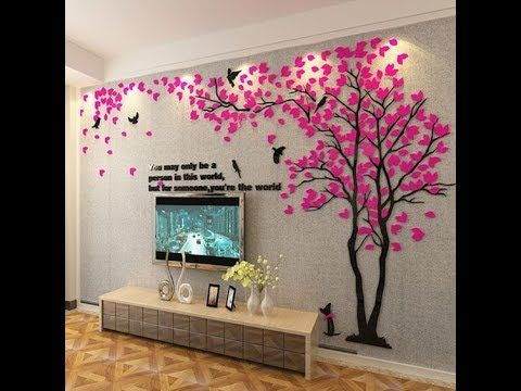 Living Area Wall Stickers Wall Decoration Ideas Interior