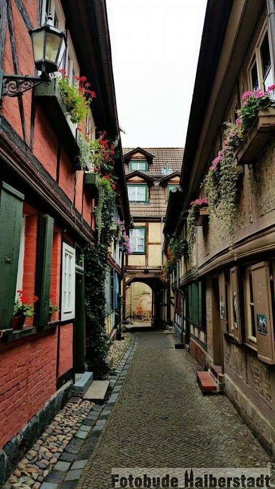 En Quedlinburg.