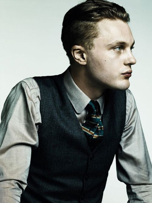 Michael Pitt - AnOther Man by Hedi Slimane, Fall/Winter 2011-12  With his slicked back hair, tailored suit and devastating pout, he has all the lethal attraction of the ultimate homme fatal.