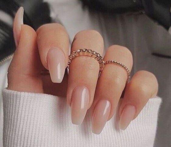 Sweet pink nail art design
