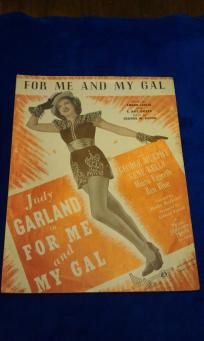 10 Movie Show Tunes Sheet Music Lot of 10 1932-1954