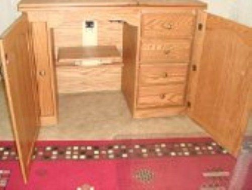 sewing tables and cabinets | Sewing Cabinets >Amish Furniture ...