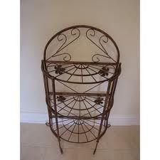 antique french bakers rack - Google Search