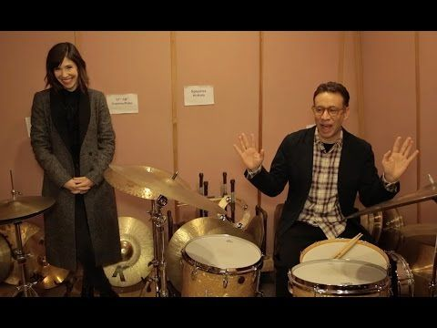 """""""Portlandia"""" Stars Duel on the Drums - YouTube"""