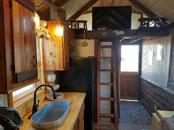 tinycabin for sale in Colorado at TinyHouseListingscom Look for