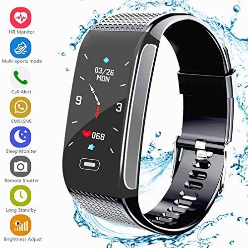 Smart Armband Fitness Tracker Aktivitatstracker Mit Pulsmesser Schrittzahler Uhr Farbbildschirm Wasserdicht Ip67 Anruf Fitness Armband Fitness Tracker Fitness