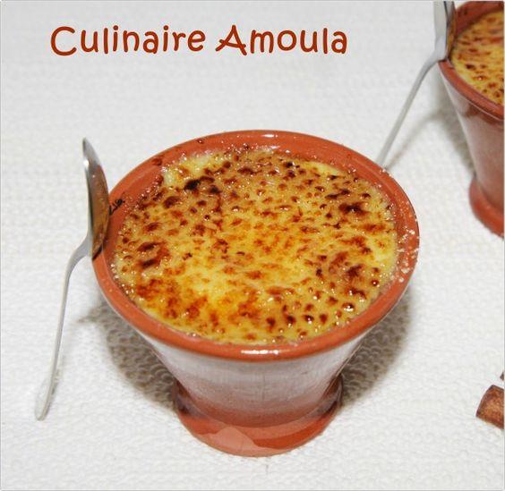 Cr me br l e recette de michalak ingr dients 500g de lait 1 b ton de cannelle 1 - Recuperer une casserole brulee ...
