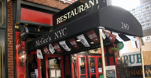// Visit McGees: Said to be the real-life version of How I Met Your Mother's McLaren's, I have to have a drink and a meal at the now-famous pub.