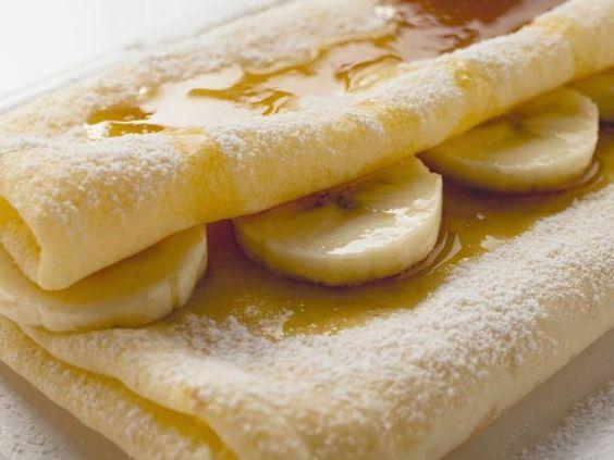 Bananencrêpe mit Ahornsirup ist ein Rezept mit frischen Zutaten aus der Kategorie Crêpe. Probieren Sie dieses und weitere Rezepte von EAT SMARTER!