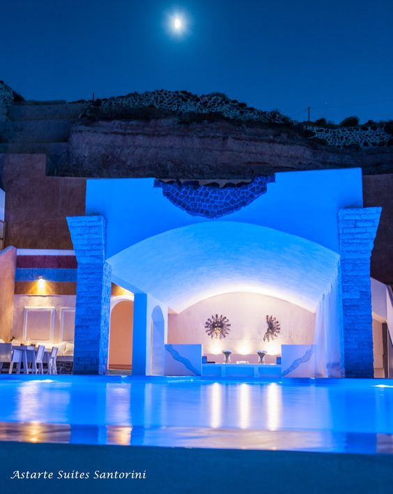 Pinterest the world s catalog of ideas for Hotels in santorini with infinity pools