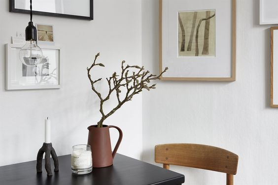 Swedish stylist Josefin Hååg's 20 m2 apartment for sale, via http://www.scandinavianlovesong.com/