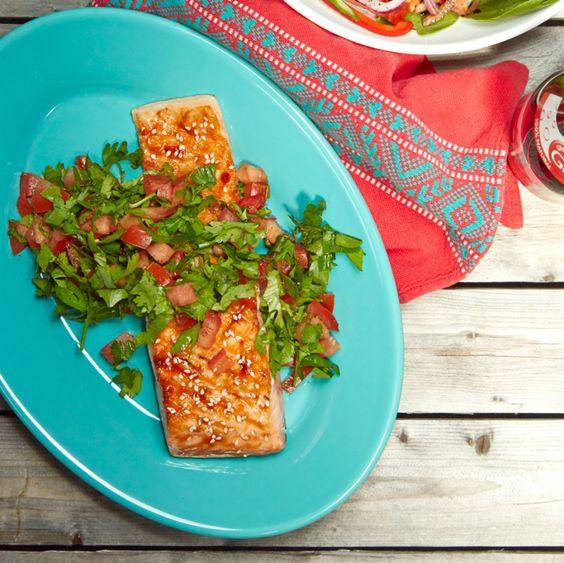 Read Asian Salmon