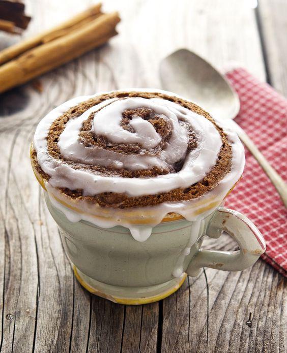 ... Cinnamon Roll In A Mug | Bobs, Bobs red mill and Paleo cinnamon rolls