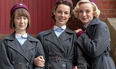 Call the Midwife is written by Cranford and Upstairs Downstairs writer Heidi Thomas. Photograph: BBC