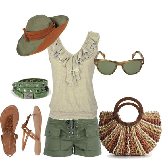 Beach Outfit, created by beautyranker on Polyvore