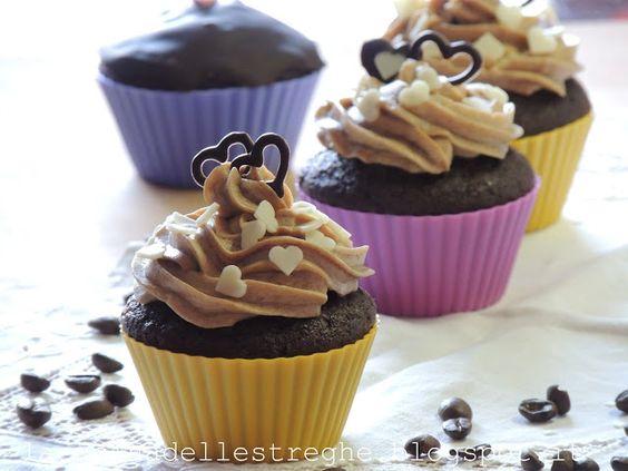 Cupcakes cioccolato e caffè...S.Valentino style
