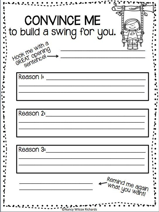 Writing Activities For First Grade And Second Grade Spring