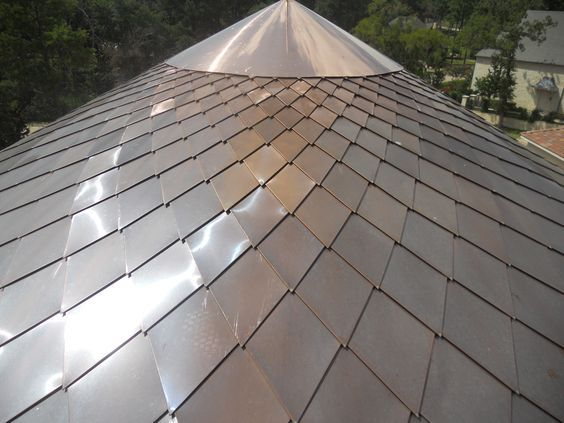 Now This Is How You Make A Radius Feature Last Permanently And Just Look At That Amazing Geometry Townhouse Exterior Copper Roof House Cladding