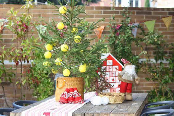 Decoración navideña con encanto para exterior. www.decoandliving.com