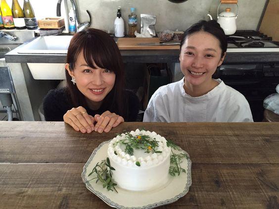 平井理央おいしそうなケーキと
