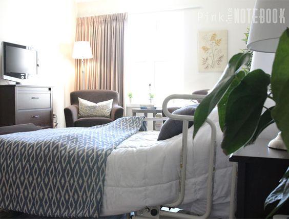 Design / Decorating for Senior Assistant Living (long-term care home) | Pink Little Notebook
