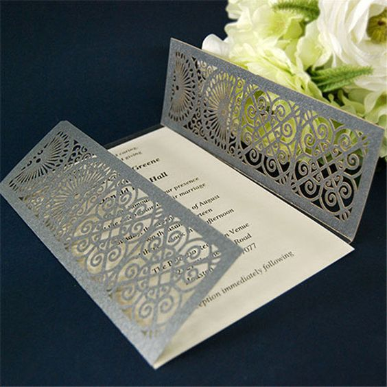 100pcs beautiful design party invitation card wedding card bengali – Invitation Card Design Wedding