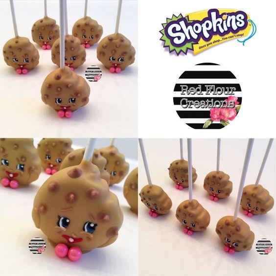 Kookie Cookie Cake Pop Shopkins CakePop Cake Pops