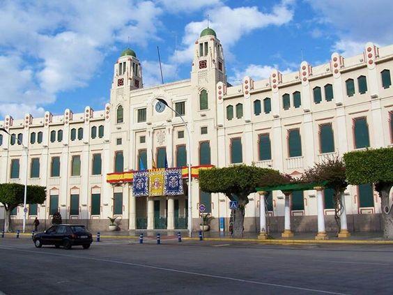 Ayuntamiento, Melilla, España