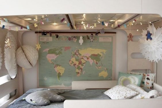 dormitorio infantil literas