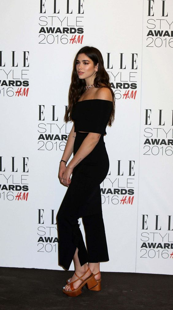 Dua Lipa At 23rd Annual Elle Women In Hollywood Awards In Los Angeles - October 24, 2016 - StalkCelebs