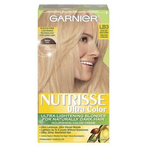 Nourishing Nutrisse Garnier Ultra Color Creme Hair